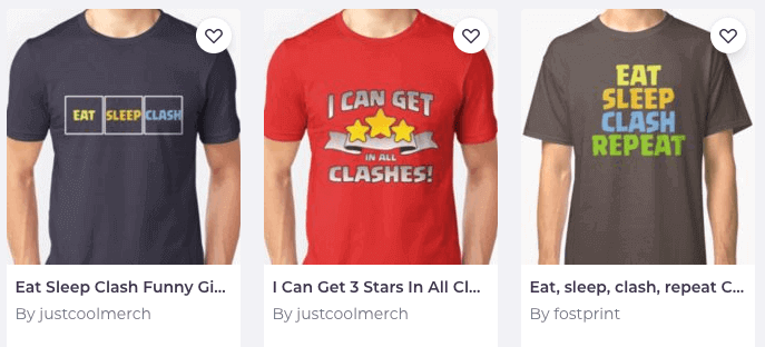 Clash of Clans Merchandise