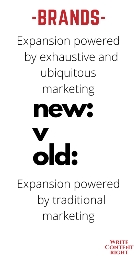 new and existing brands growth and expansion